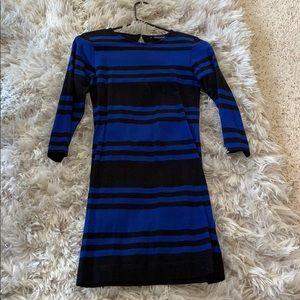 French connection midi slim dress